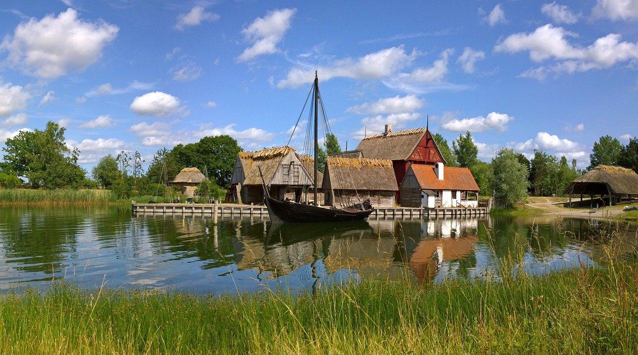 Nyköbing dänische Insel Falster